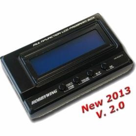 Hobbywing LCD Program Card V2.0 USB x regolatori EZRUN e XERUN New 2013