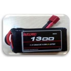 MAXPRO LIPO 30C 11,1V 1300MAH 3S