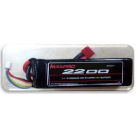 MAXPRO LIPO 30C 11,1V 2200MAH 3S