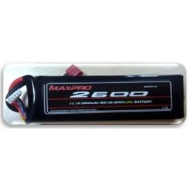 MAXPRO LIPO 30C 11,1V 2600MAH 3S