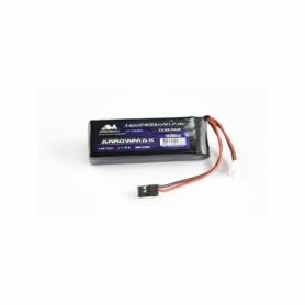 Arrowmax RC Lipo 2400mAH 2s TX/RX 7.4V Flat Pack AM700912 Li-Po