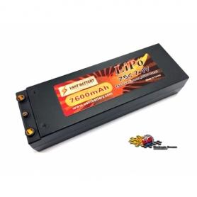 VANT Batteria LiPo 7,4v 7600mha 75C HARD CASE