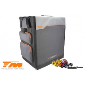 TM Formula F10 SUPRA car bag borsone trolley 1/10 (57,5x30x53)