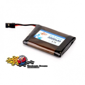 INTELLECT Pacco batterie LiPo per MT44 SANWA 3000mha 1S