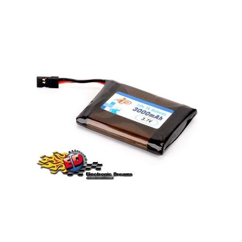 INTELLECT Pacco batterie LiPo per MT44 SANWA 3000mha 1S