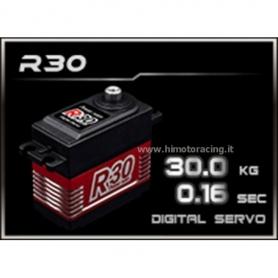 SERVOCOMANDO  Digitale 30Kg Power R30 High Voltage con ingranaggi in titanio