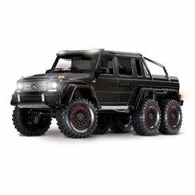 TRX-6 Mercedes-Benz G 63 AMG 6×6 Trail Crawler con Kit Luci-Nero