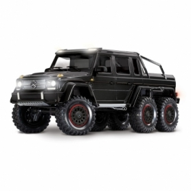 TRX-6 Mercedes-Benz G 63 AMG 6×6 Trail Crawler con Kit Luci-Nero