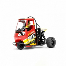 X-Rider Flamingo Tricycle RTR Rosso