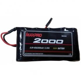 MAXPRO NIMH 6V 2000MAH PIATTA