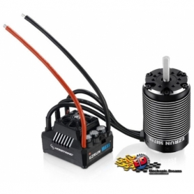 EZRUN COMBO MAX6 V3 160A. + EZRUN-SL-5687-1100kv -1/5 Off-Road Monster