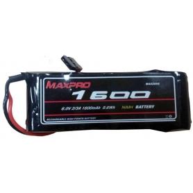 MAXPRO NIMH 6V 1600MAH PIATTA