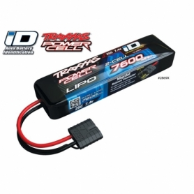 Batteria Lipo 7600mah 7.4V 2s 25c Power Cell Traxxas ID