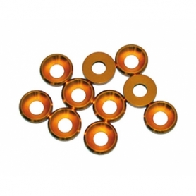 Rondella conica alu m4 oro (10)