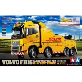 TAMIYA  1/14 rc volvo fh16 globetrotter 750 8×4 tow truck
