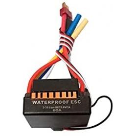 VARIATORE ELETTRONICO ESC 60amp Water Proof Car 1/10