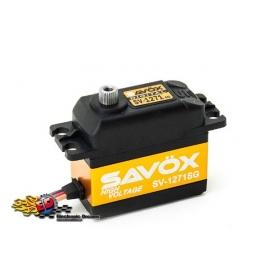 SAVOX SV-1271SG HV Digital Ultra Fast Servo 25kg 0,08sec, 7,4V, 63gr