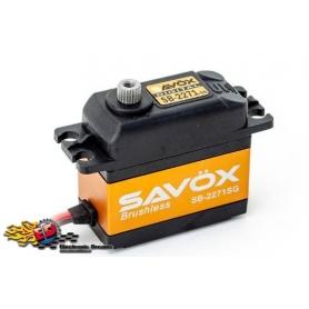 SAVOX SB-2271SG HV Digital Brushless Servo 20kg 0,065sec, 7,4V, 69gr