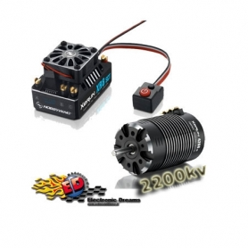XERUN COMBO XR8SCT 140A. + 4268SD G2 2200KV – 1/8 On/Off-Road Monster Truggy 38020423
