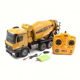 HuiNa Toys Camion Betoniera RC 2,4GHz scala 1/14 immagine 2