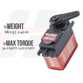 SERVOCOMANDO HSB-9380TH Brushless Ultra Torq 34 kg*cm