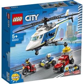 LEGO 60243 INSEGUIMENTO SULL' ELICOTTERO DELLA POLIZIA