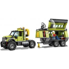 LEGO 60124 BASE DELLE ESPLORAZIONI VULCANICA