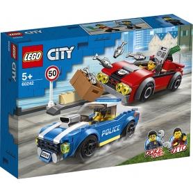 LEGO 60242 ARRESTO SU STRADA DELLA POLIZIA