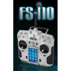 Radiocomando FS-i10 Colour Touch Telemetry 10 Ch 2,4 GHz