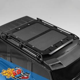 Yeah Racing portapacchi in metallo e carbonio con fari a led x TRAXXAS TRX-6