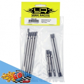 Yeah Racing Set Completo Link in acciaio inossidabile x TRAXXAS TRX-4 (8)