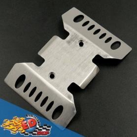 Yeah Racing Skid Plate in acciaio x Axial SCX10 III (AXI03007)