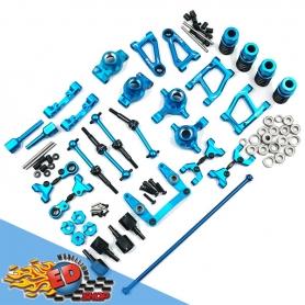Yeah Racing Rapid Performance kit conversione in Alluminio BLU x Tamiya TT01 TT01E