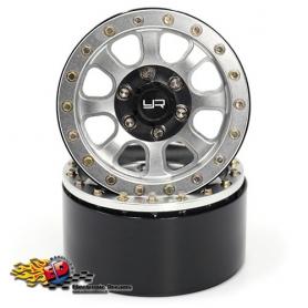 Yeah Racing Cerchi 1.9 x SCALER in Alluminio CNC 8 Raggi BEADLOCK (2)