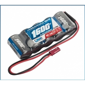 LRP XTEC RX-pack Straight 2/3A NiMH – BEC – 6.0V – 1600mAh