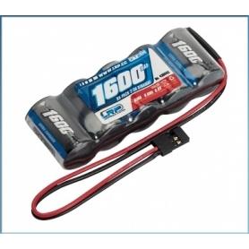 LRP XTEC RX-pack Straight 2/3A NiMH – JR – 6.0V – 1600mAh
