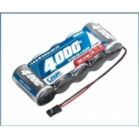 LRP XTEC 1/5 RX-pack Straight SubC NiMH – JR – 6.0V – 4000mAh