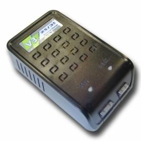 EV-PEAK V3+ caricabatterie elettronico 2S-3S 110/220V LiPo LiFe