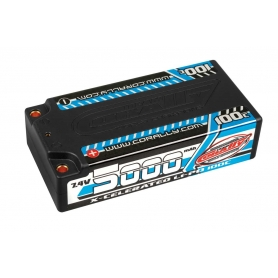 Team Corally Celerated 100C 5000mAh 7.4V Sh 4mm