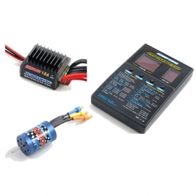 EZRUN combo regolatore 18A, motore 18T, program card x modelli 1/12 1/18 81030010