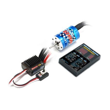 EZRUN combo regolatore 18A, motore 12T, program card x modelli 1/12 1/18 81030000