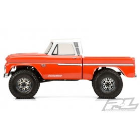 "PROLINE Carrozzeria 1966 CHEVROLET C-10 (cab+bed) SCX10 trail honcho 12.3"" (313mm)"