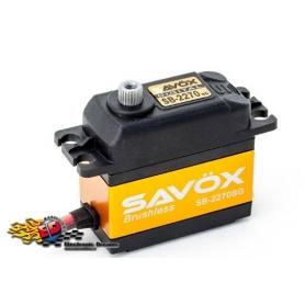 SAVOX SB-2270SG HV Digital Brushless Servo 32kg 0,12sec, 7,4V, 69gr