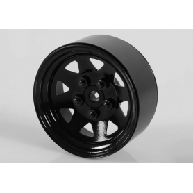 "RC4WD 5 Lug Wagon 1.9"" Steel Stamped Beadlock Wheels (Black)"