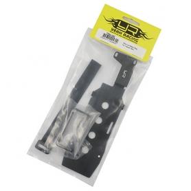 Yeah Racing supporto batteria in metallo basso centro di gravità x TRAXXAS TRX-4
