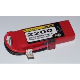 Lipo Xell-Sport 7.4V 2200MAH 2S 30C