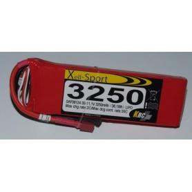 Lipo Xell-Sport 11.1V 3250MAH 3S 30C