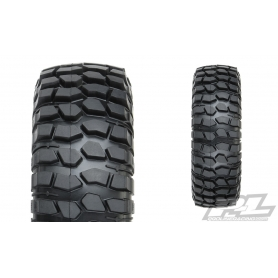 "PROLINE Gomme Class 0 Goodrich Krawler T/A KX 1.9"" RED Predator Rock Tyres (98x33mm)"