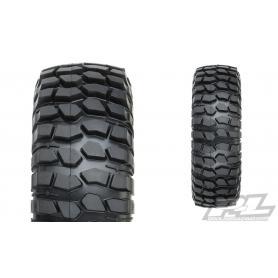 "PROLINE Gomme Class 0 Goodrich Krawler T/A KX 1.9"" RED Predator Rock Tyres (98x33mm)"