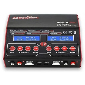 Ultra Power UP240AC Dual Channel AC/DC Charger 240W 20A.